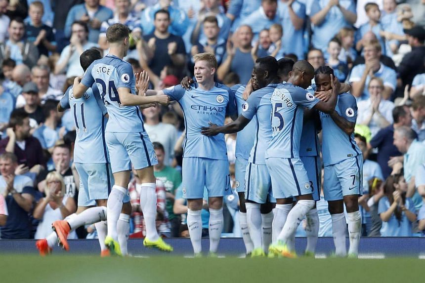 English Premier League leaders Manchester City signed a regional partnership deal with healthcare and pharmaceutical company, Mundipharma on Thursday (Sept 30).