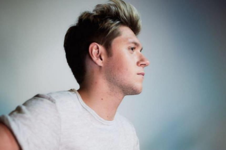 Niall Horan in a photo from his Facebook page.