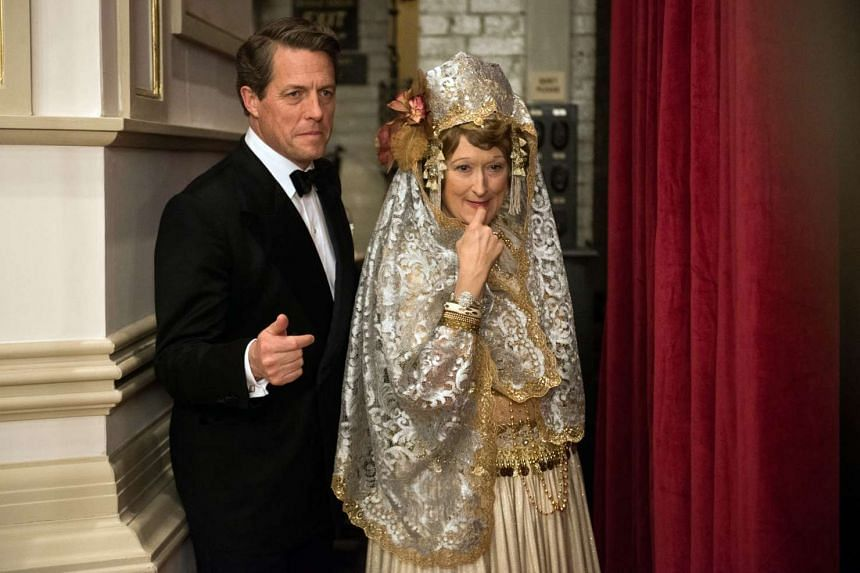 Meryl Streep (with co-star Hugh Grant) in Florence Foster Jenkins