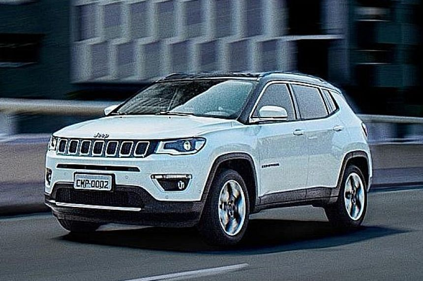 The new Jeep Compass.