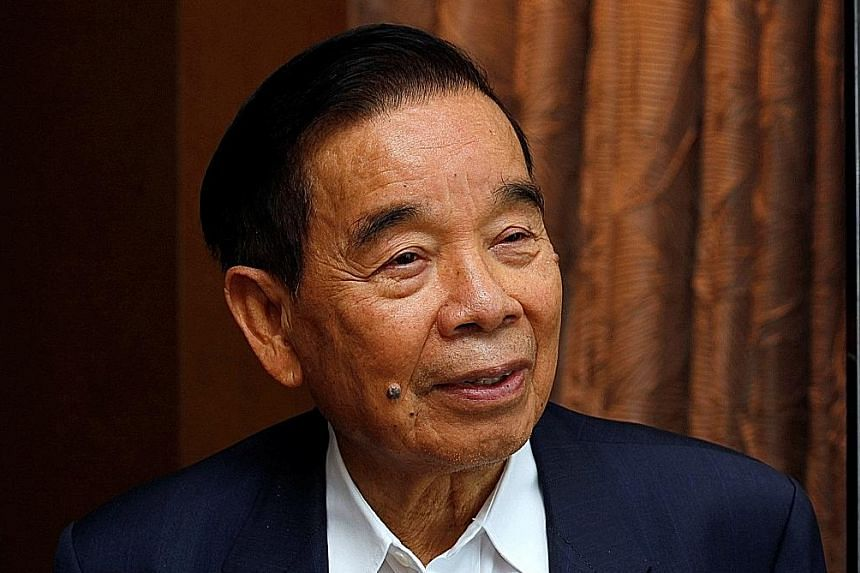 Mr Cheng was among Chinese refugees who fled Japanese invaders and made it big outside of the mainland.