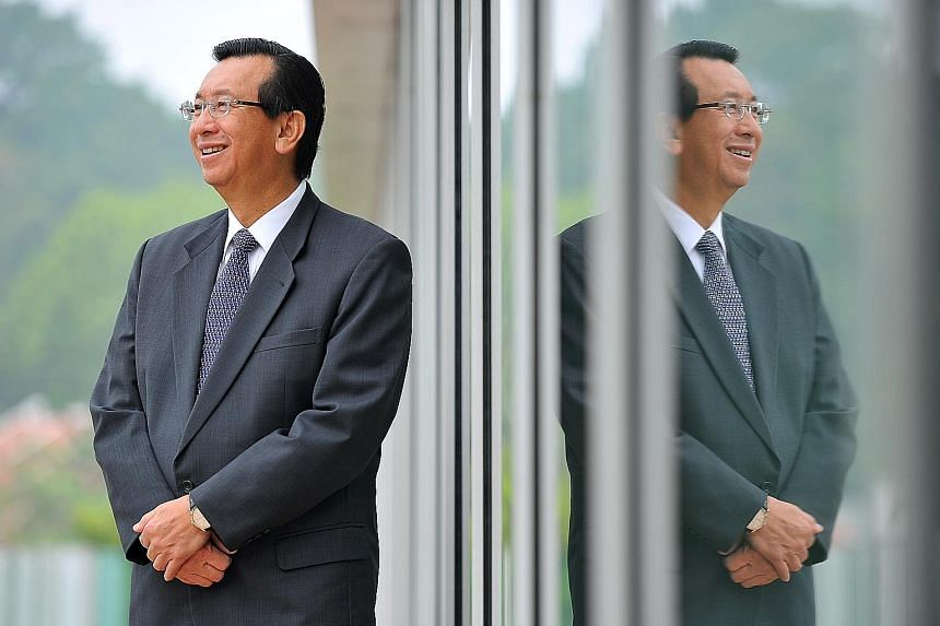 The Sembcorp Gayatri Power Complex (above) in Andhra Pradesh was the largest foreign direct investment-driven project on a single site in the thermal energy sector in India. Sembcorp CEO Tang Kin Fei (right) remains confident that large economies lik