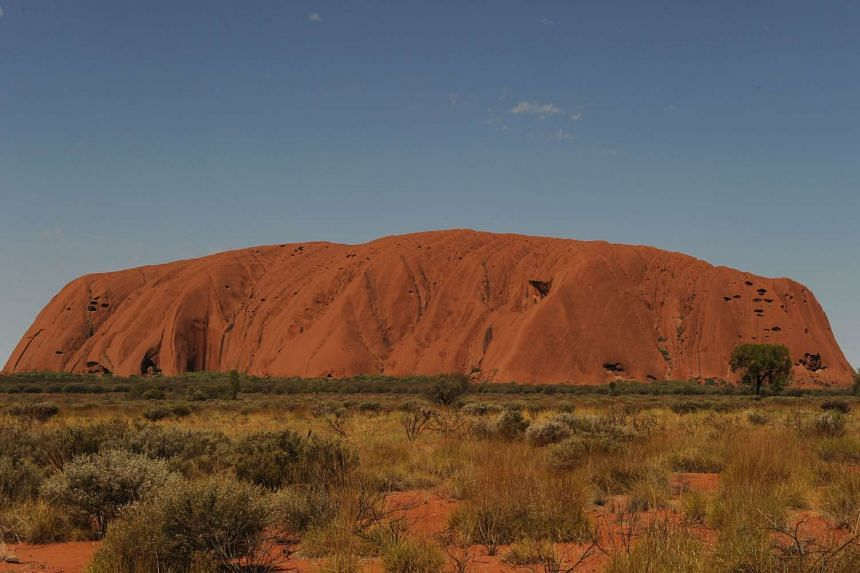 Uluru, formerly known as Ayers Rock, a large sandstone rock formation and the world's largest monolith situated in the southern part of the Northern Territory in central Australia.