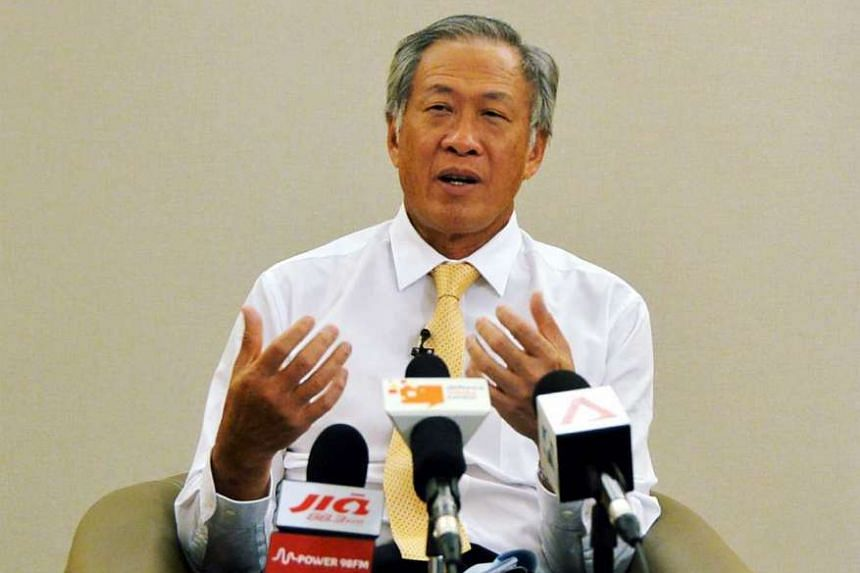Defence Minister Ng Eng Hen said that extremists groups are becoming more organised and networked every year.