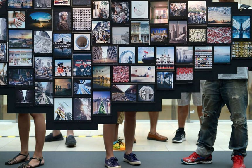 The Mad about Singapore 2016 photo exhibition at Raffles City Shopping Centre on Oct 1, 2016.