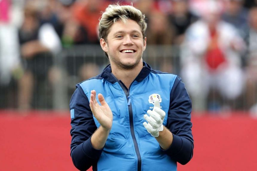 One Direction member Niall Horan, who played the 2016 Ryder Cup Celebrity Matches earlier this week in Minnesota, released his song, This Town, on Thursday.