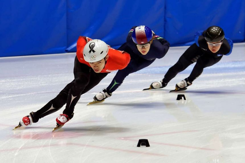 Lucas Ng was one of the competitors at the Asian Winter Games in 2011, taking part in the 500m and 1,000m short-track skating events.