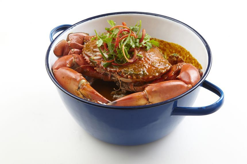 Phat Pong Mud Crab Curry