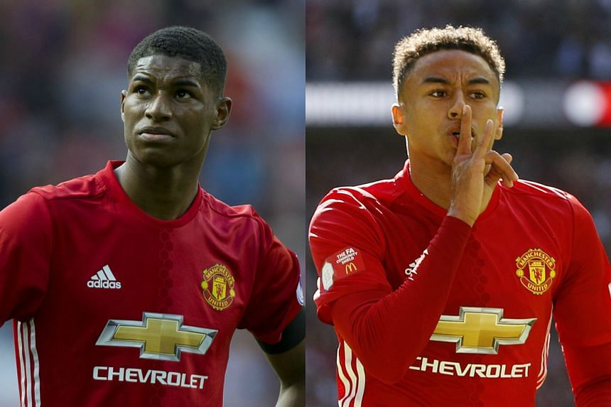 Marcus Rashford (left) and Jesse Lingard (right) have been included in Gareth Southgate's first squad for this month's World Cup qualifiers.