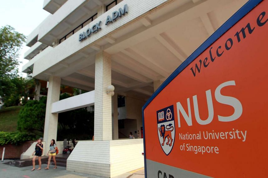 The National University of Singapore campus.