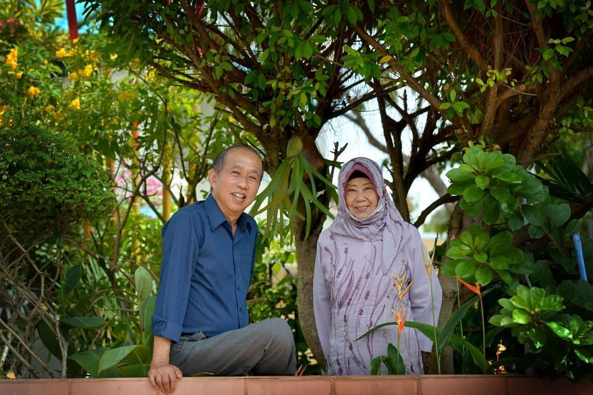 Artist Koh Mun Hong (left) and singer Nona Asiah have won this year's Cultural Medallion award.