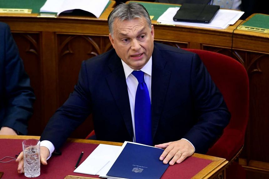 Hungary's prime minister Viktor Orban vowed to reject the EU's controversial migrant quota plan on Monday (Oct 3).