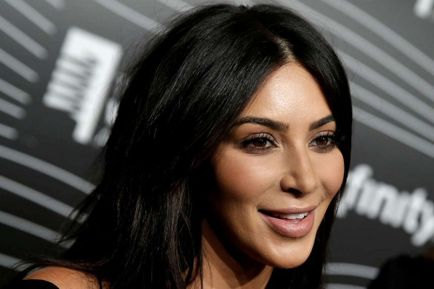 Kim Kardashian West participating in a television interview on May 16, 2016.