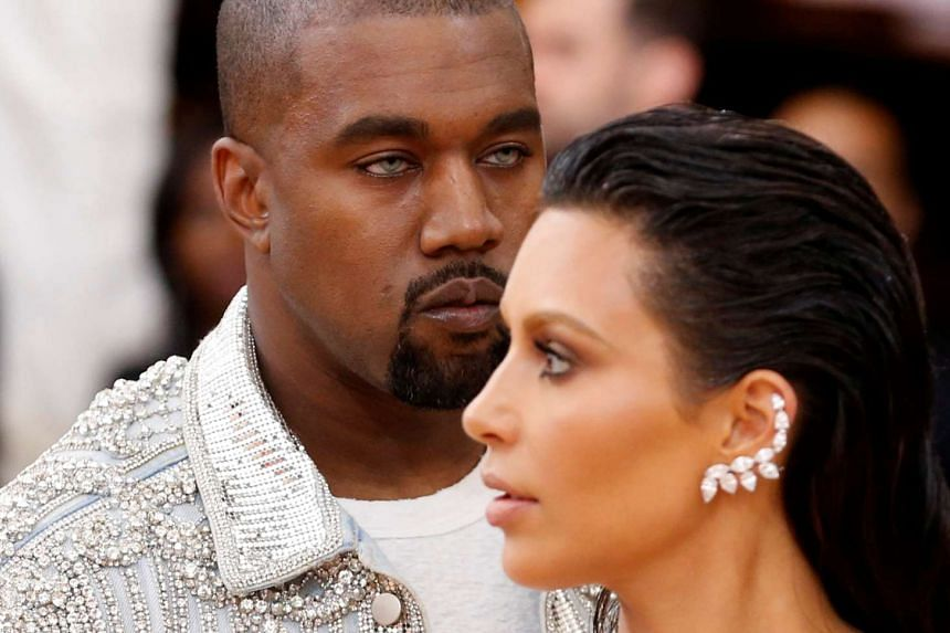 Musician Kanye West (left) and wife Kim Kardashian arriving at the Metropolitan Museum of Art Costume Institute Gala (Met Gala) to celebrate the opening of Manus x Machina: Fashion In An Age Of Technology in New York, on May 2, 2016.