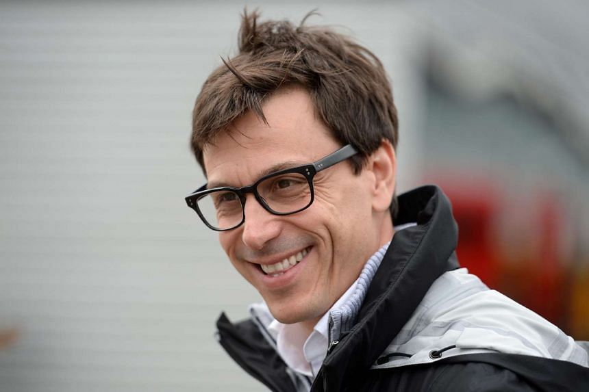 Mercedes team principal Toto Wolff at the British Formula One Grand Prix at Silverstone motor racing circuit in Silverstone, central England, on July 10, 2016.