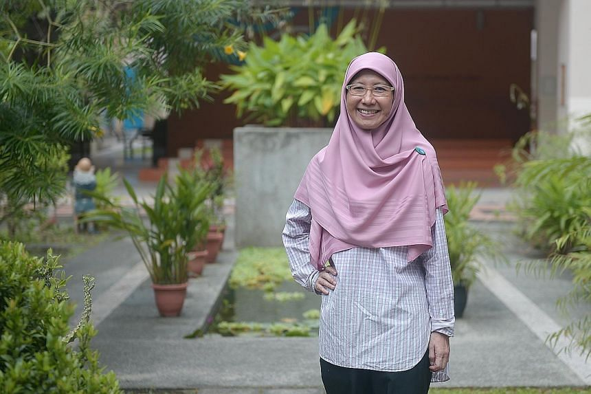 Madam Tutek, an allied educator for learning and behavioural support at Tampines Primary School, was a late bloomer and shows pupils how to overcome learning challenges.