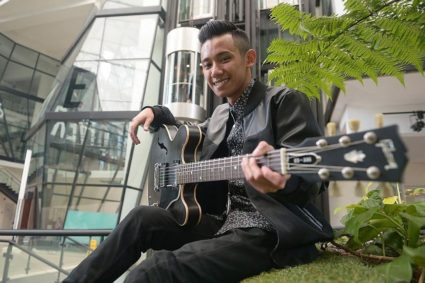 The guitar kept him at home and out of trouble, says Mr Sano, 24, who has graduated with a bachelor of arts degree in music with first-class honours from the Lasalle College of the Arts.