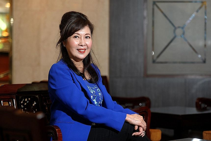 Mrs Hwang said her way of dealing with gender discrimination at the workplace was not to see it as a hindrance.