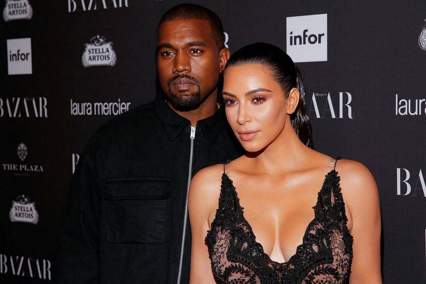 Kanye West and Kim Kardashian attending Harper's Bazaar's celebration of 'ICONS By Carine Roitfeld' in New York on Sept 9, 2016.