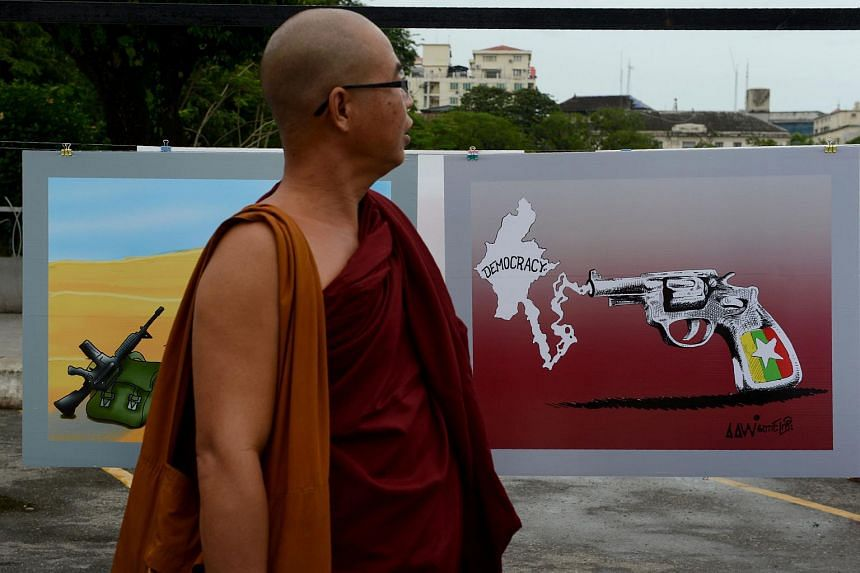 Myanmar scrapped the Emergency Provisions Act, a law used by the former military government to silence political activists, on Tuesday (Oct 4).