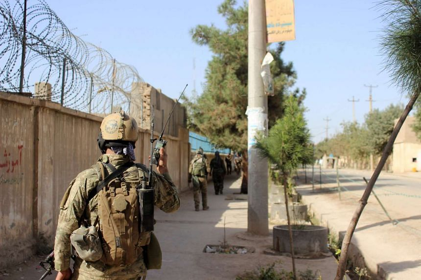 Afghan forces regained control of most of the northern city of Kunduz on Tuesday (Oct 4).