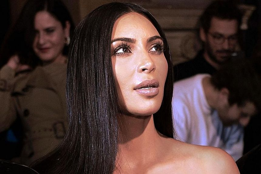 Kim Kardashian West was badly shaken but physically unharmed.