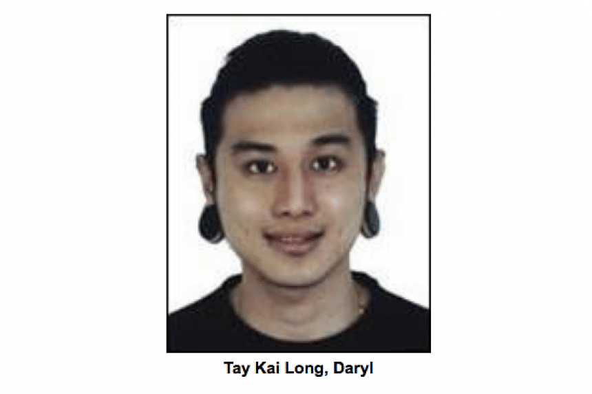 Daryl Tay Kai Long was arrested on Monday (Oct 3) for allegedly trying to set a nightclub on fire in September.