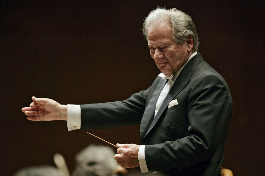 Neville Marriner (above in a file photo) initially held rehearsals at his home.