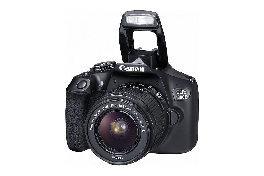 Autofocus in the Canon EOS 1300D DSLR is generally fast and accurate.