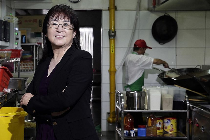 Ms Zou, 54, originally set up Tong Chiang Group in 2007 to provide packed food for staff at construction sites and factories. She has since branched out and is in the running for the Established Entrepreneur prize.