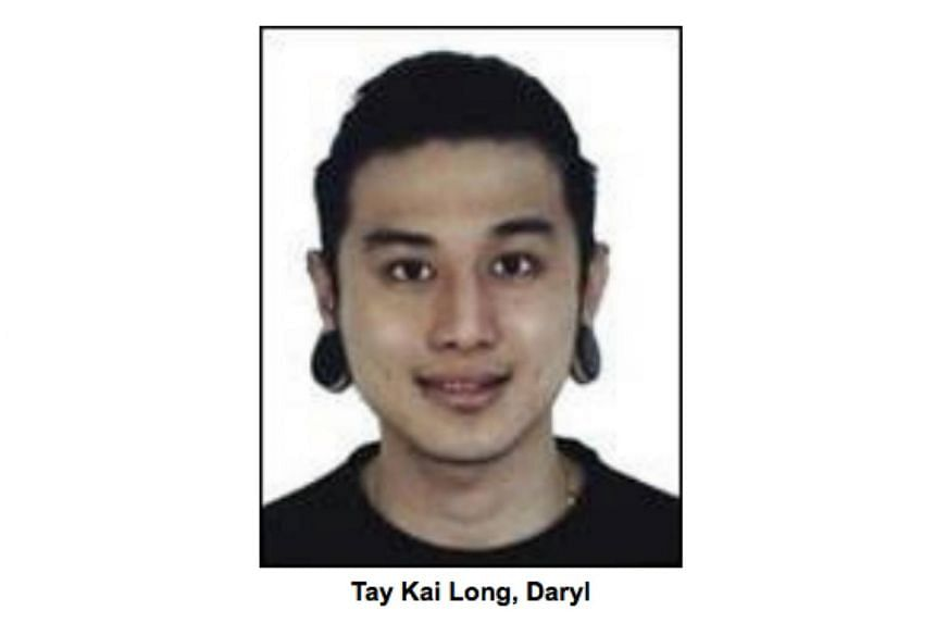 Daryl Tay Kai Long was charged with one count of mischief by fire for his alleged role in an attempt to set a club on fire using Molotov cocktails.