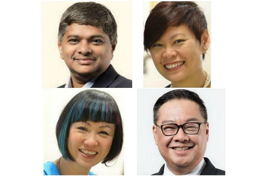 Four special awards were given out to (clockwise from top left) Mr Rajakumar Chandra, Ms Carolyn Kan, Mr Arthur Kong and Ms Lynette Lee at the Singapore Tourism Awards on Oct 5, 2016.