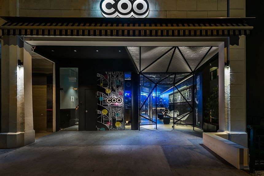 COO Bistro in Outram Road.