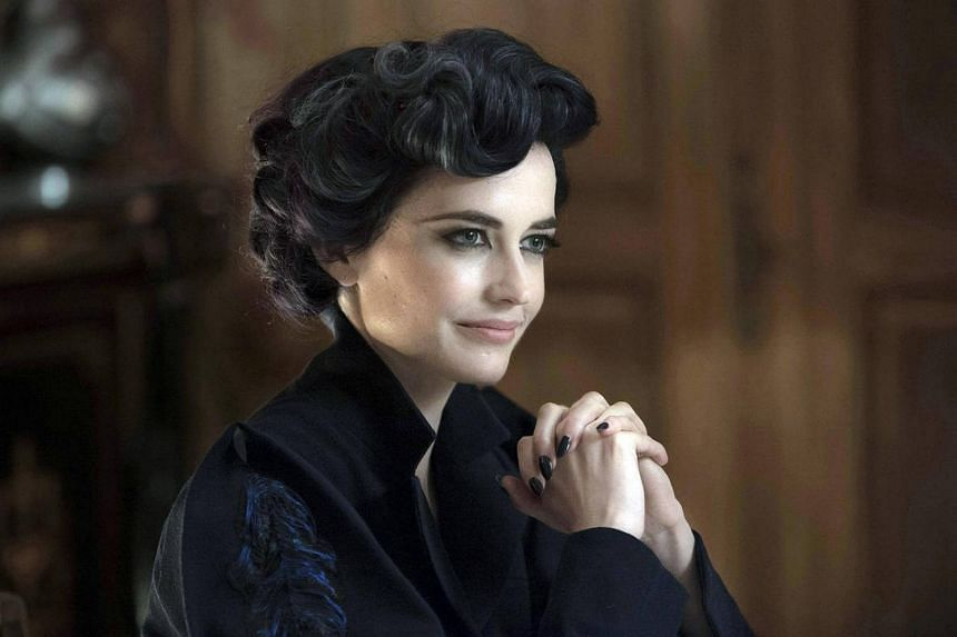 A still from the movie Miss Peregrine's Home For Peculiar Children starring Eva Green.