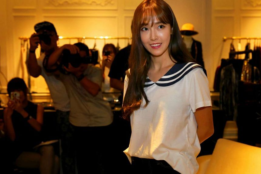 Former Girls' Generation member Jessica Jung will hold her first fan meeting in Singapore on Nov 11.