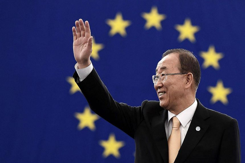 The current UN Secretary-General, Ban Ki-moon. The Security Council powers will weigh in to rate candidates for the new UN chief on Wednesday (Oct 5).
