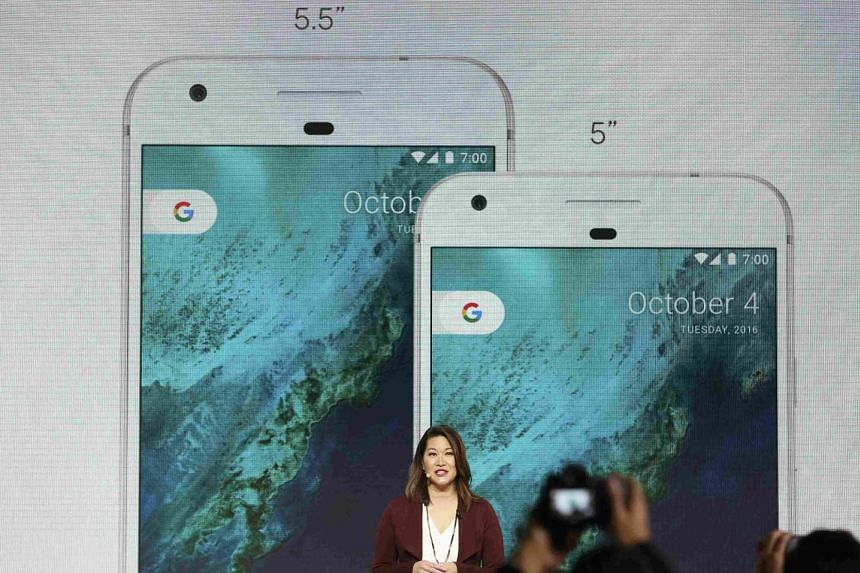 Sabrina Ellis, director of product management at Google, speaks about the new Pixel phone.