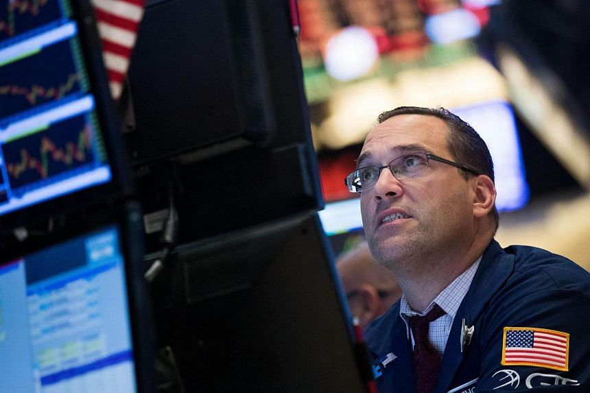 Traders work on the floor of the New York Stock Exchange on Sept 13, 2016.
