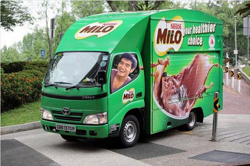 "Earlier, Nathan Hartono vowed that ""if I win, I will rent a fleet of Milo vans and treat everybody to Milo peng (iced Milo)""."