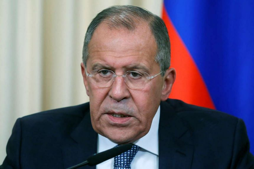 Russian Foreign Minister Sergei Lavrov said the country is studying a draft resolution on the conflict in Syria.