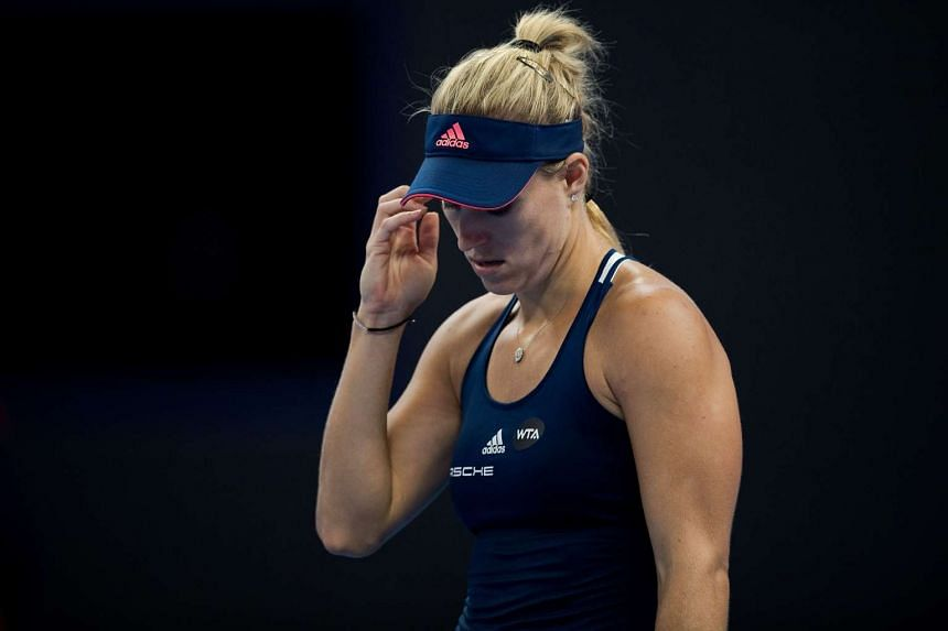 Angelique Kerber was knocked out of the China Open by Elina Svitolina, on Oct 6, 2016.