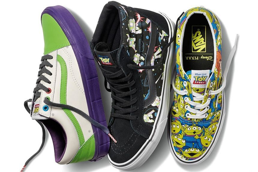 Toy story-inspired collection from vans