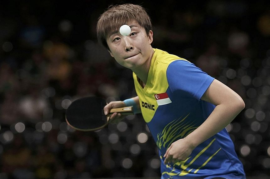 Singapore's top paddler Feng Tianwei, currently world No. 6, could possibly compete in the T2 Apac, which kicks off in Hong Kong in the second half of next year.