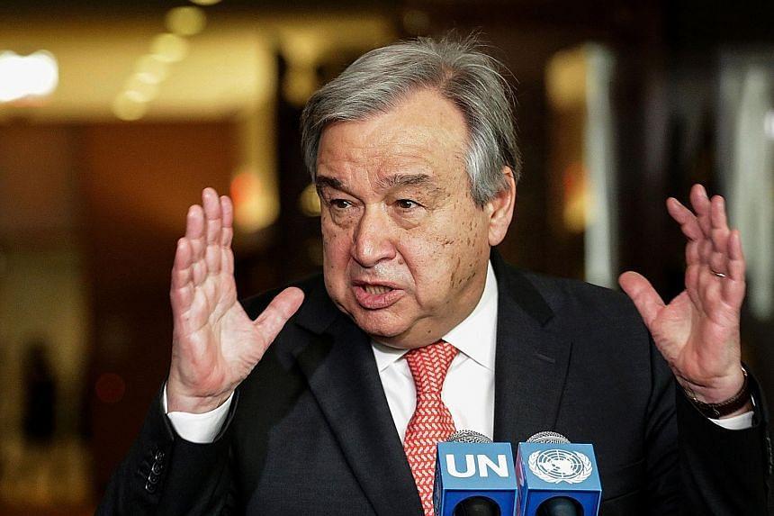Mr Guterres, 67, was Portugal's prime minister from 1995 to 2002, and was the UN's refugee chief for 10 years.