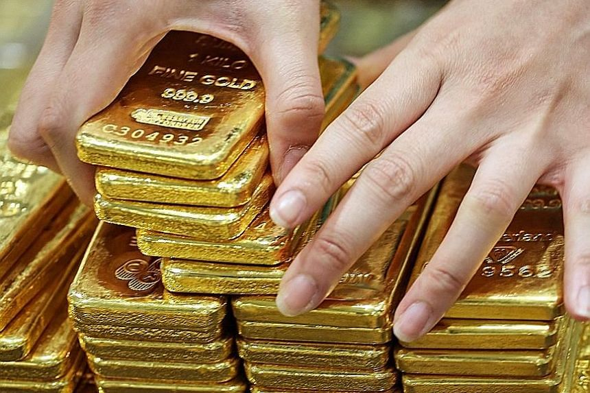 Prices of gold had tumbled 3.3 per cent on Tuesday, the most since July last year, as prospects for higher US rates and less stimulus in Europe spurred a sell-off. But trading in the precious metal rebounded yesterday.