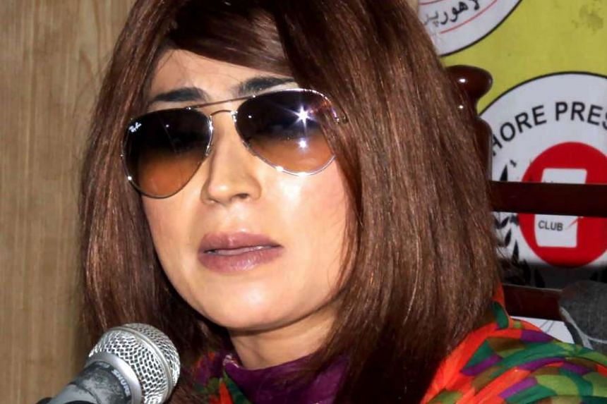 Outspoken social media star Qandeel Baloch (above) was killed three months ago. Her brother was arrested in connection with her strangling death.