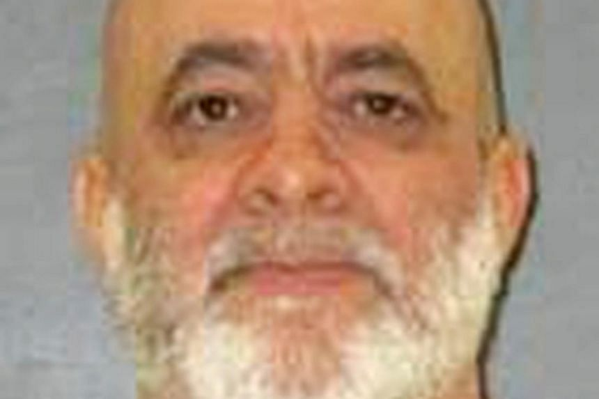 Texas death row inmate Barney Fuller is seen in an undated picture released by the Texas Department of Criminal Justice.