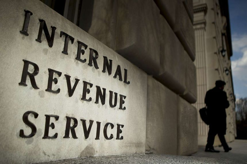 The US Internal Revenue Service headquarters in Washington, DC. Call centre workers in India posed as US tax officials, say police.