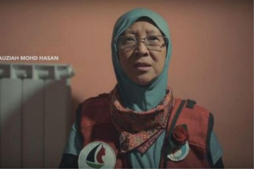 Dr Fauziah Hasan and 12 other female volunteers were on the Women's Boat to Gaza mission on board the Zaytouna-Oliva boat when they were detained by Israel Defence Forces.