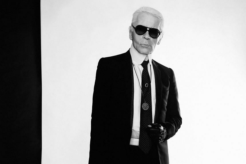 Renowned German fashion designer Karl Lagerfeld ticked off Kim Kardashian on Tuesday for flaunting her wealth.